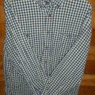 AEROPOSTALE Men's Shirt - Blue Brown & Yellow - Size Medium -  EUC *