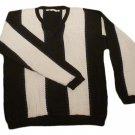 Mens Multi-Color PERRY ELLIS V-Neck Sweater L Large Cotton Blend