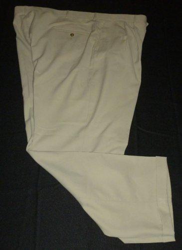 HAGGAR Men's Dress Pants - Brown - Size 44 - EUC
