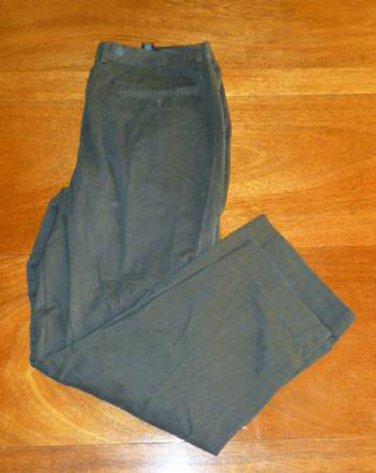 CLAIBORNE Men's Dress Pants - Black - Size 38 *