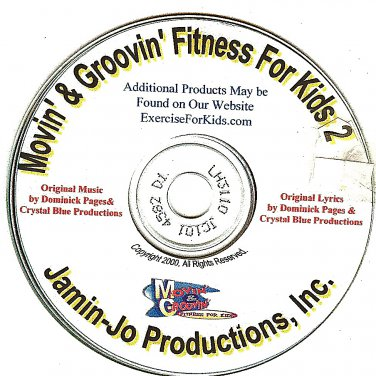 Movin' and Groovin': Fitness for Kids 2 Audio CD