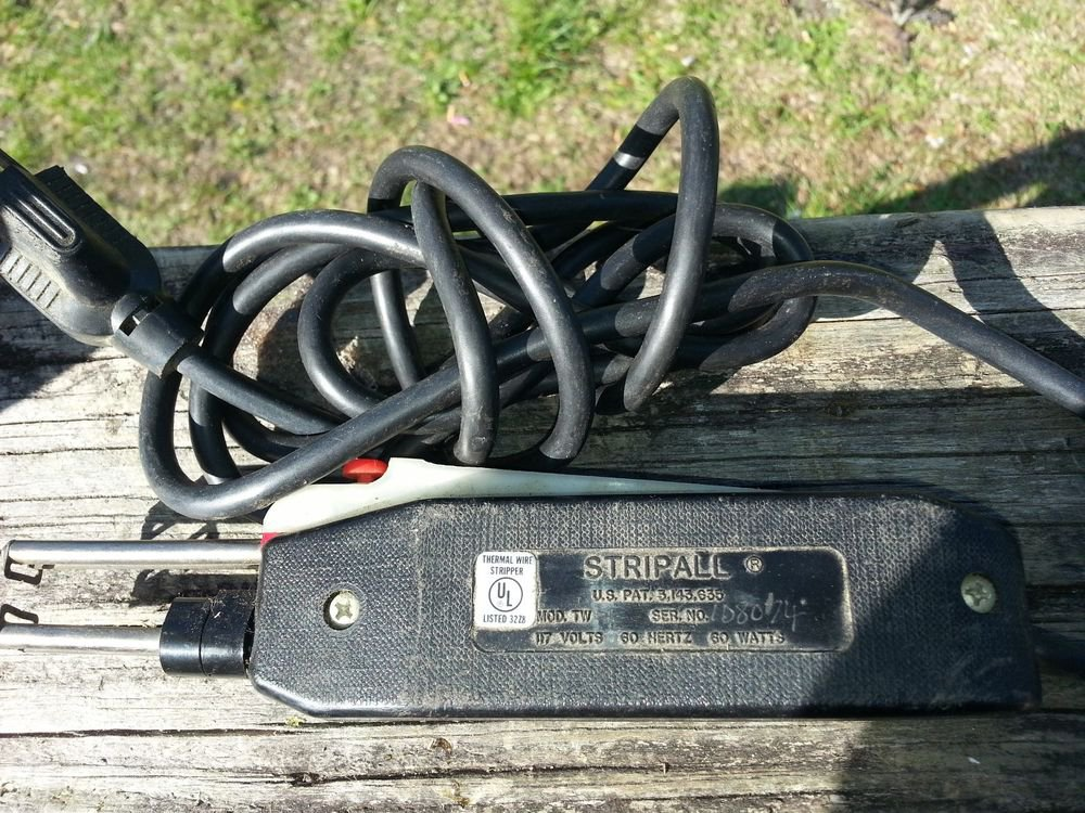 KINETICS TELEDYNE STRIPALL THERMAL WIRE STRIPPER  ~Model TW-1 ~SERIAL # 108074