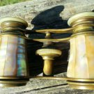 ~2~ Antique Brass PARIS ~Mother of Pearl~ Opera Glasses LEMAIRE FABT Binoculars