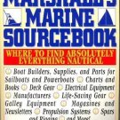 MARSHALL'S MARINE SOURCEBOOK By Roger Marshall  ~Nautical & Boating