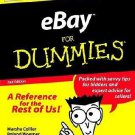 eBay for Dummies by Marsha Collier, Roland Woerner and Stephanie Becker...