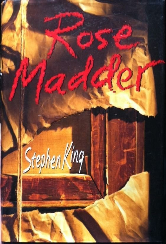 Rose Madder by Stephen King (1995, Hardcover) 1st Edition/1st Printing