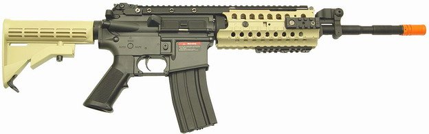 GB Model-Airsoft M4 system ae-5868tw metal body / Gear box Tokyo Marui replica