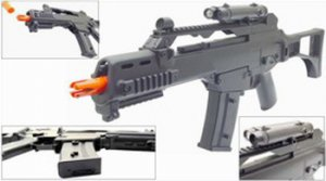 Airsoft electric G36 Metal gear box Semi/Full Auto Nicads/Charger Included Tokyo Marui replica