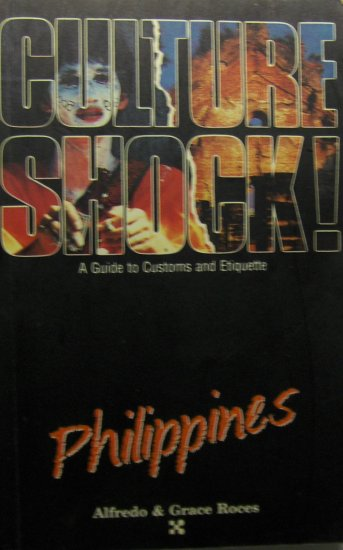 Culture Shock!: Philippines (1992, Paperback) - ALFREDO ROCES