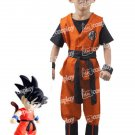 Dragon Ball Son Goku Kids Children Cosplay Costume Clothing