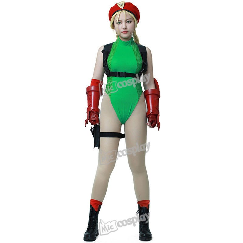 Anime Street Fighter V Cammy Adult Cosplay Costume Costume Women Clothing