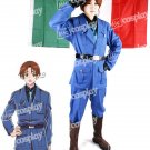Hetalia Axis Powers Italy Cosplay Women Costume Uniform Clothing