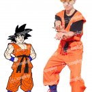 Dragon Ball Goku Cosplay Costume Including Boots Cover