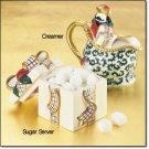 St Nicholas Sugar and Creamer Set