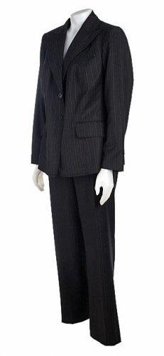 Anne Klein Women's Plus Size 2-Button Suit
