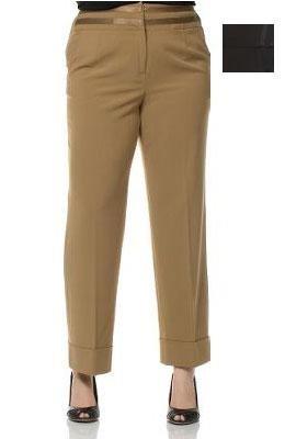 Larry Levine Washable Plus Size Pants
