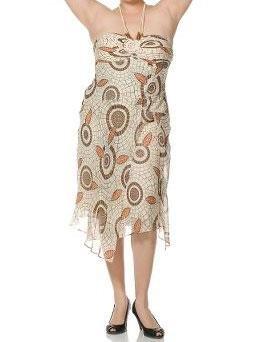 Sangria Beige Womens Dress