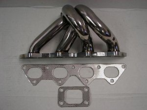 MimoUSA Turbo Manifolds Eclipse 4g63 T3T4 Flange W/ 38mm Wastegate Flange