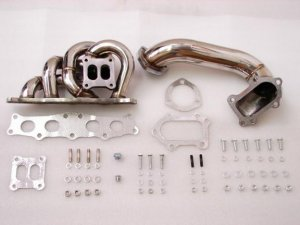 MimoUSA Turbo Manifolds 3 SGTE Turbo Manifold (down Pipe Included)