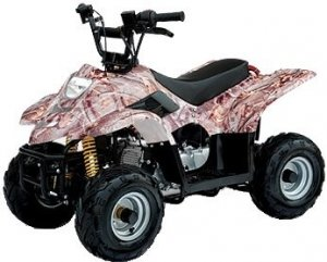 Small Size Classic Kids Model ATV (Quad)