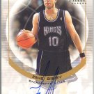 2001-02 Topps TCC #CCA-MB Mike Bibby Authentic Autograph
