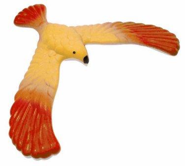Amazing Magical BALANCING BIRD TOY � 5� Wing Span � Physic/Education/Fun - Red