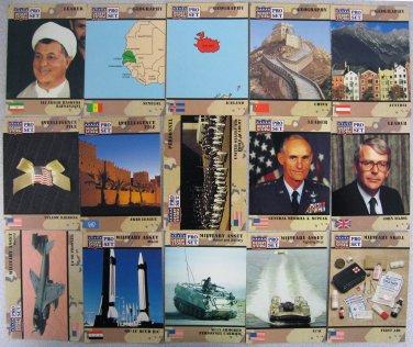 DESERT STORM CARDS � 30 CARD LOT � PRO SET 1991