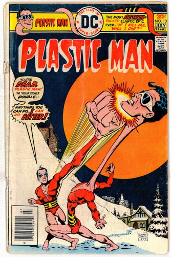 PLASTIC MAN DC COMICS � Vol. 1 No.13 1976