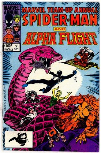 SPIDER-MAN MARVEL COMICS � Vol. 1 No. 7 1984 � GREAT CONDITION