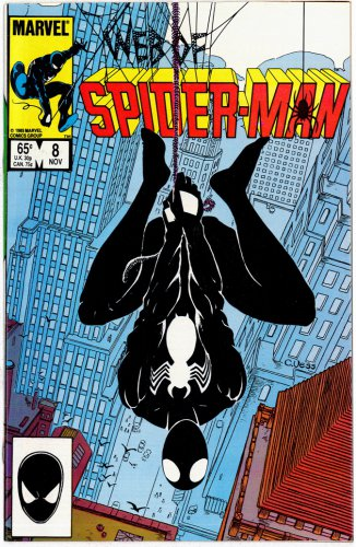 SPIDER-MAN MARVEL COMICS � Vol. 1 No. 8 1985 � GREAT CONDITION