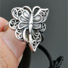 Trendy Retro Silver Color Butterfly Fashion Ring