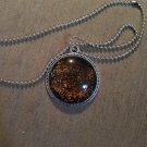 Glass cabashon necklace