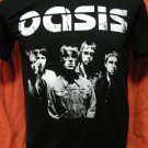 !! FREE SHIPPING!! OASIS BAND Britpop ROCK N ROLL STAR Liam,Noel Gallagher black T Shirt size S