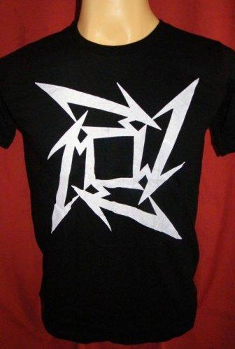 !! FREE SHIPPING!! Metallica American heavy metal rock band mens,womens black t shirt size S