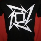 !! FREE SHIPPING!! Metallica American heavy metal rock band mens,womens black t shirt size M