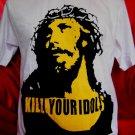 !! FREE SHIPPING!! Kill Your Idols Rock Axl Rose Guns N Roses mens,womens white t shirt size L