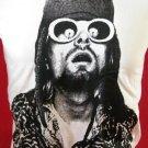 !! FREE SHIPPING!! NIRVANA music punk rockstar BAND Kurt Cobain mens,womens t shirt size L