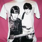 !! FREE SHIPPING!! THE BEATLES band John Lennon&Paul McCartney men women t shirt size S