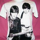 !! FREE SHIPPING!! THE BEATLES band John Lennon&Paul McCartney men women t shirt size XL