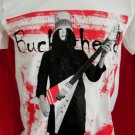 !! FREE SHIPPING!! Buckethead guitarist Guns n Roses music rock band mens or womens t shirt size L