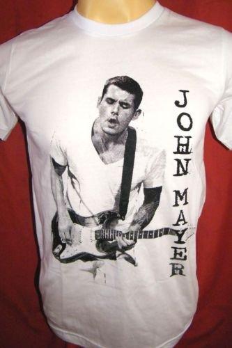 !! FREE SHIPPING!! JOHN MAYER American pop rock music band men,women t shirt size L