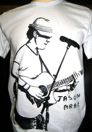 !! FREE SHIPPING!! Jason Mraz Indie reggae pop rock music men,women surf t shirt size L