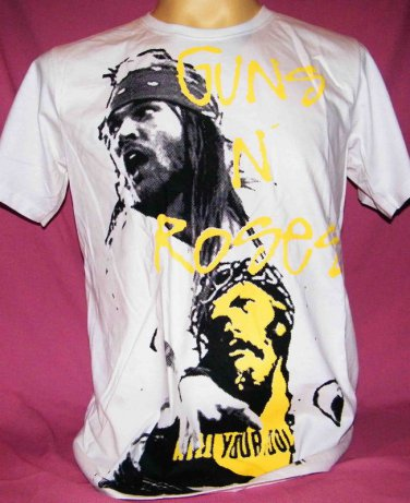 !! FREE SHIPPING!! AXL Rose Kill Your Idols Guns N' Roses music Rock band men,women t shirt size XL