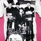 !! FREE SHIPPING!! THE BEATLES 60's vintage rock band t shirt size L