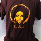 !! FREE SHIPPING!! Ben Harper blues, folk, soul, reggae music brown t shirt size S