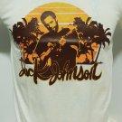 !! FREE SHIPPING!! Jack Johnson surfer soft rock acoustic mens' t shirt size L