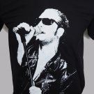 !! FREE SHIPPING!! Layne Staley Heavy metal rock band Alice in Chains black t shirt size L