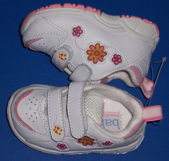 Carters Light Up Tennis Shoes Baby Girl Size 3