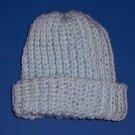 Hand-Crocheted Blue Cap Newborn Boy 0 to 3 Months