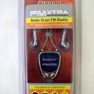 Digisette FM Xtra Auto-Scan FM Radio with Lanyard Earphones